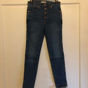Madewell High Rise Skinny Size 27